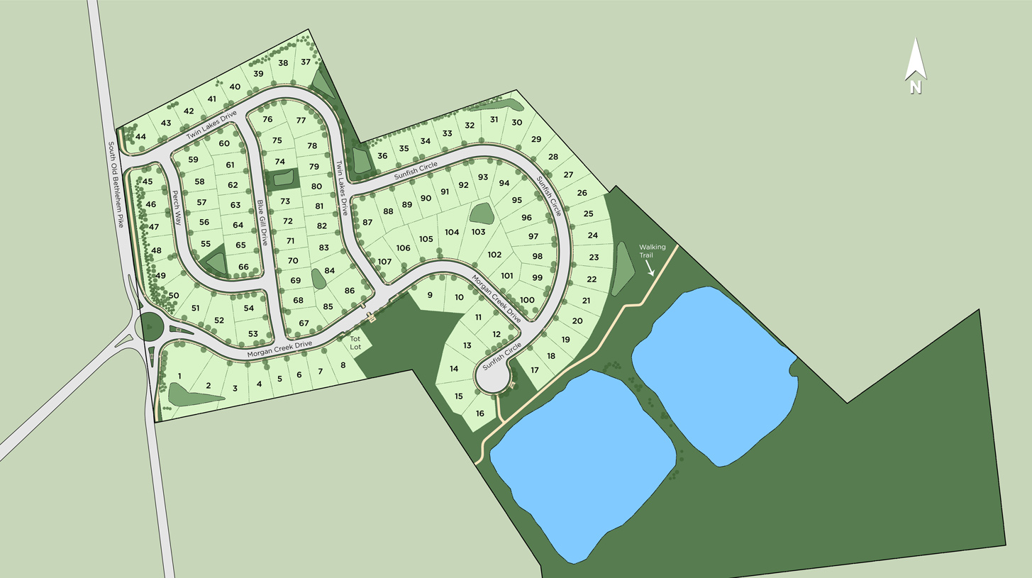 Twin Lakes Overall Site Plan