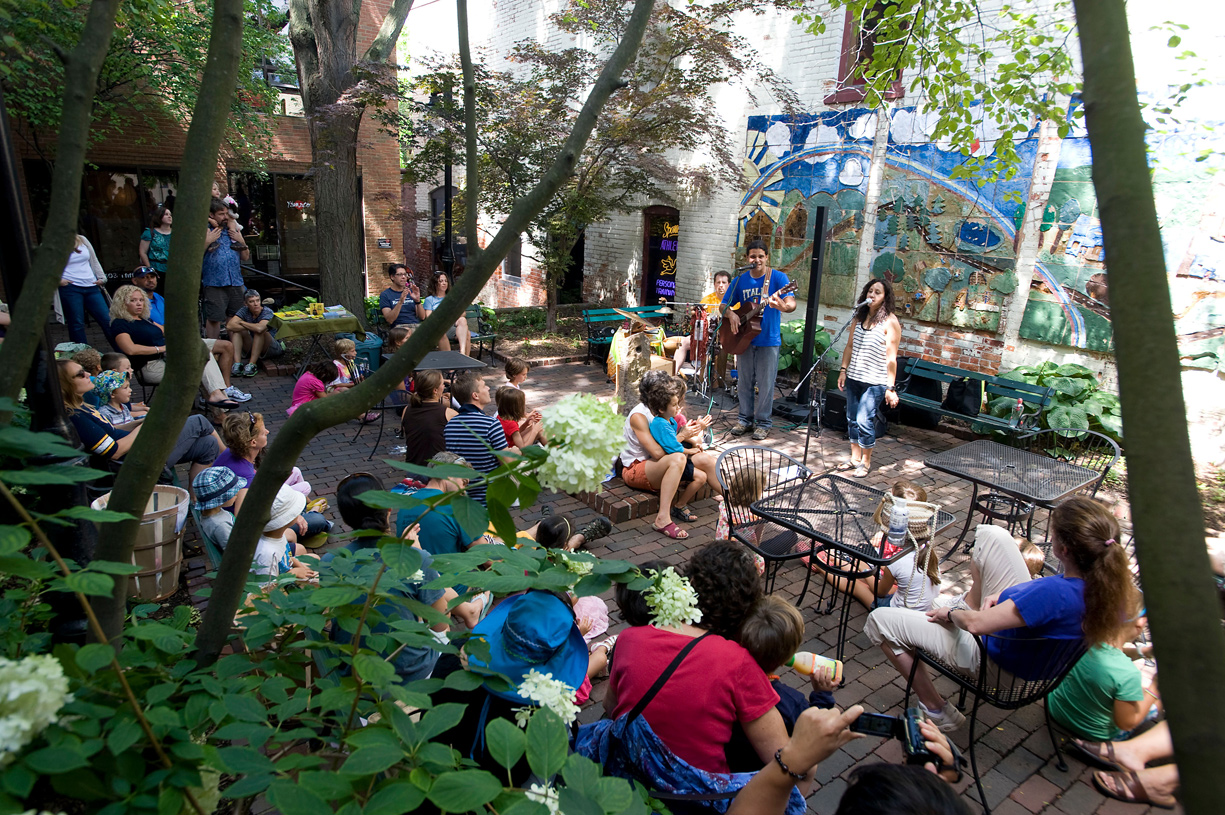 Ann Arbor is alive with events and activites that bring the community together all year long. PHOTO COURTESY OF VISITANNARBOR.ORG