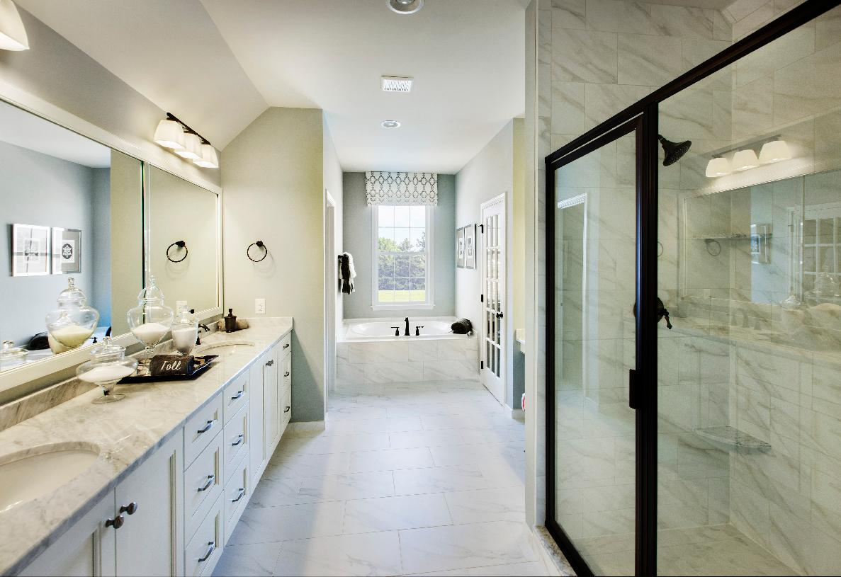 """Optional layout with """"luxurious primary bath"""" package"""