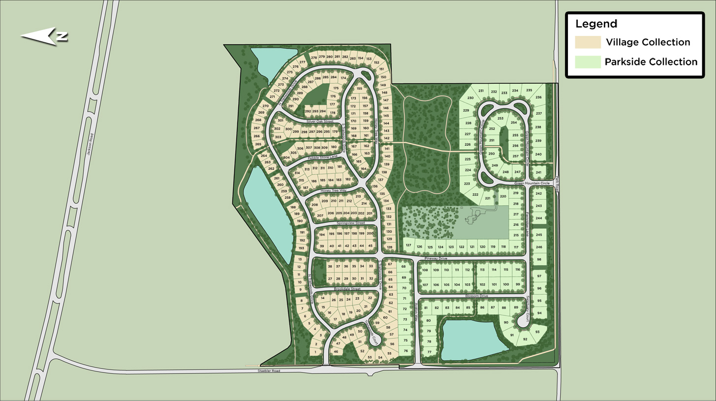 Trailwoods of Ann Arbor Overall Site Plan