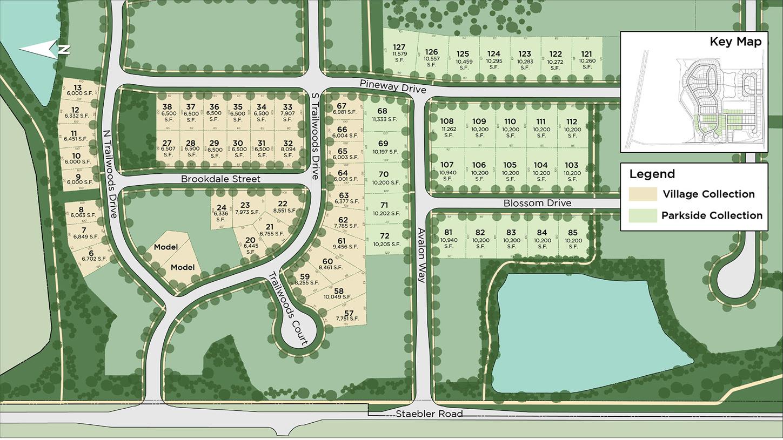 Trailwoods of Ann Arbor Site Plan