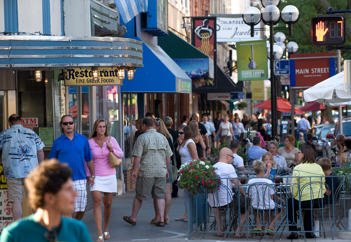 Trailwoods is just a 7 miles from the heart of downtown Ann Arbor! PHOTO COURTESY OF VISITANNARBOR.ORG