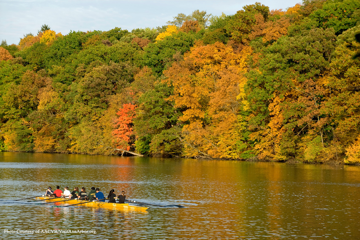 Spend an afternoon at one of more than 200 parks offering year round activities. PHOTO COURTESY OF VISITANNARBOR.ORG