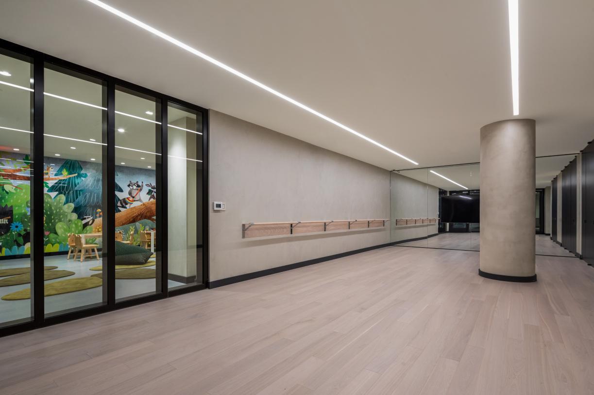 Yoga/barre studio