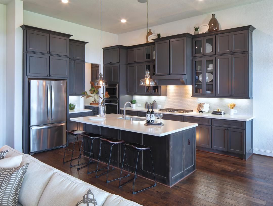 Loralai kitchen with center island is ideal for entertaining