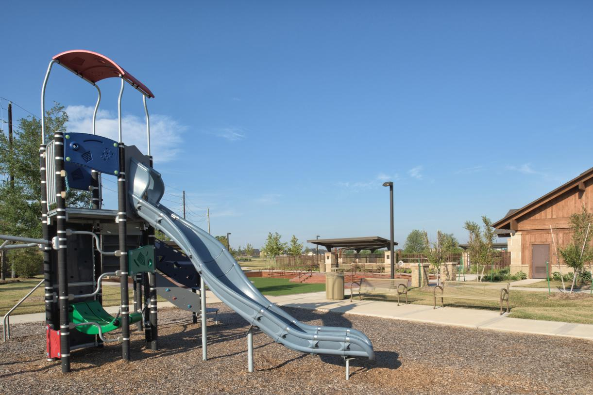 Learn and play in community parks and playgrounds