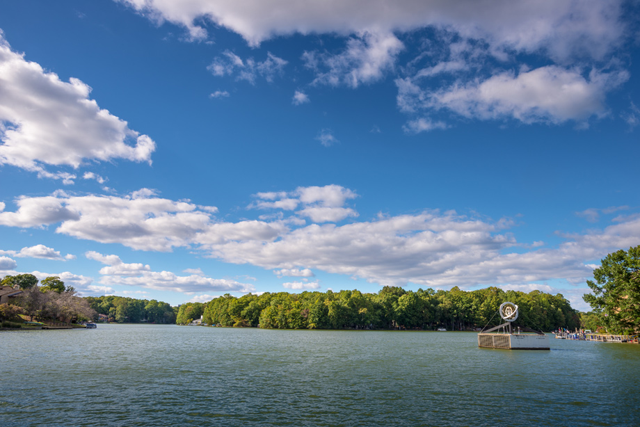 Relax at one of Reston's four lakes, Lake Anne, Lake Thoreau, Lake Audubon and Lake Newport, covering 125 acres