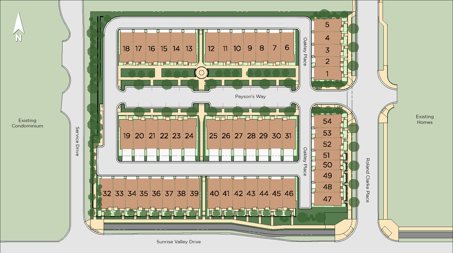 Valley and Park Site Plan