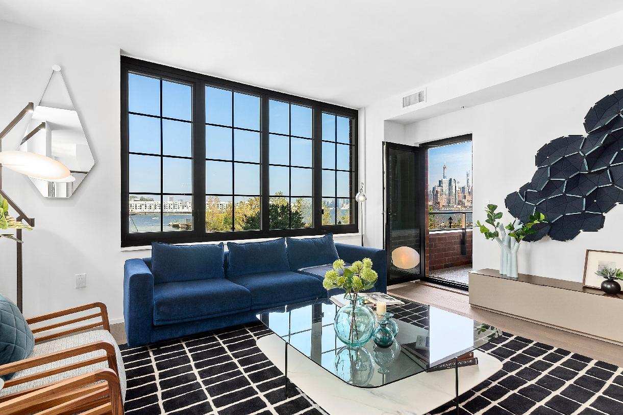 H Line living room and dining room
