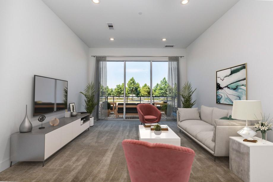 Toll Brothers Westbourne Park at Metro Crossing Spacious Great Room