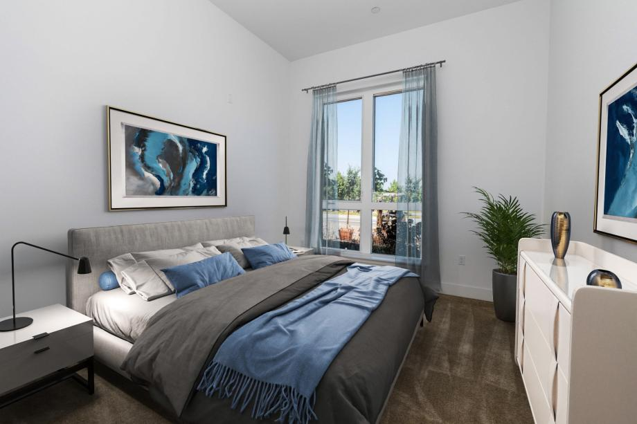 Toll Brothers Westbourne Park at Metro Crossing Luxurious Primary Bedroom