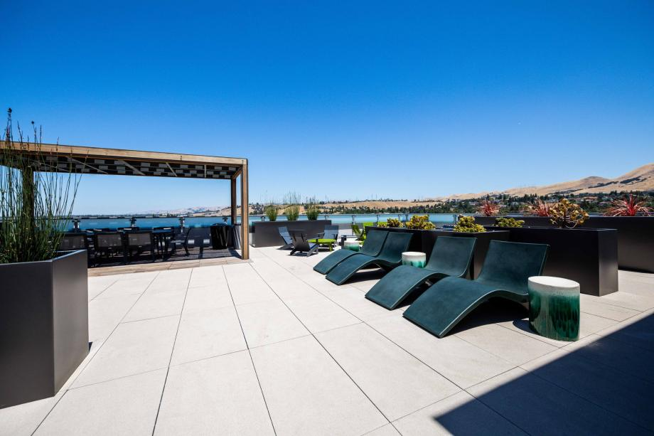 Toll Brothers Westbourne Park at Metro Crossing Elegant Rooftop Terrace