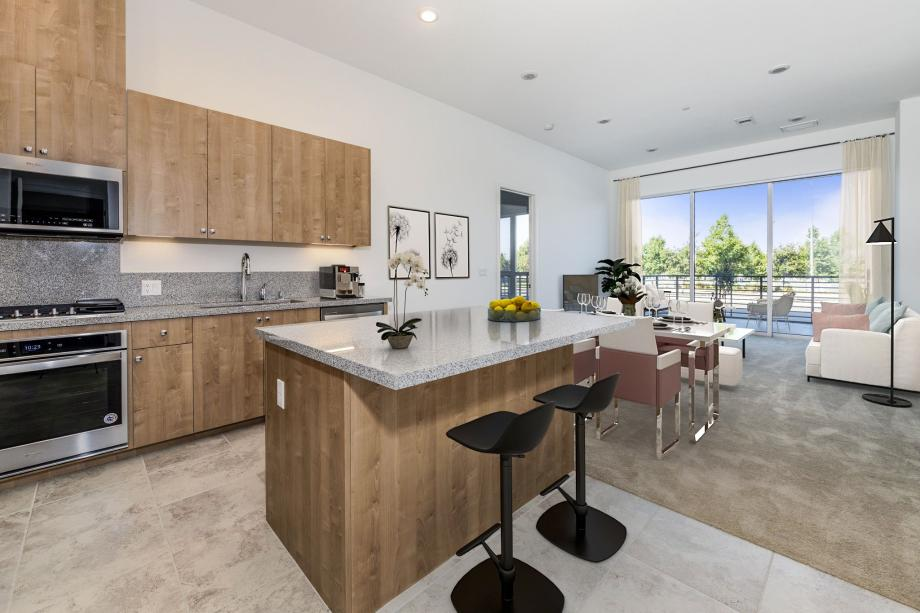 Toll Brothers Westbourne Park at Metro Crossing Large Open Floor Plan