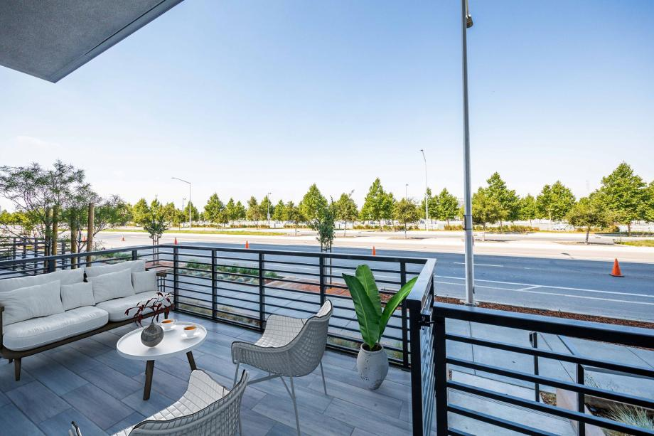 Toll Brothers Westbourne Park at Metro Crossing Private Patio