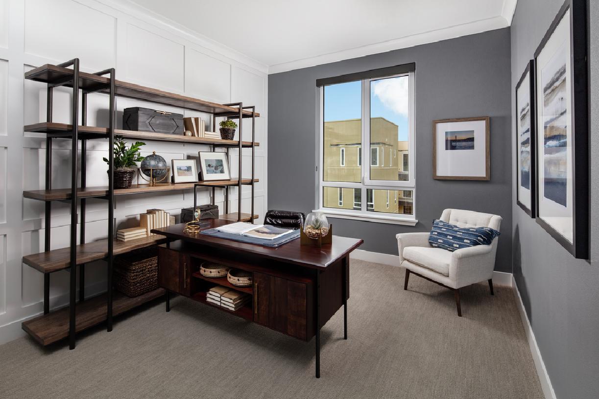 Model home bonus room/office