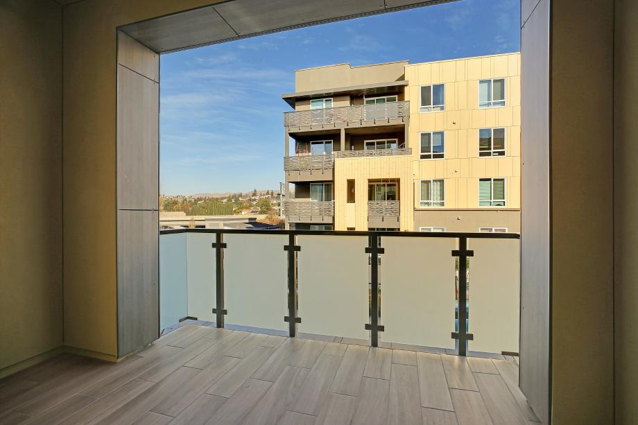 Toll Brothers Chancery Lane at Metro Crossing Residence 53 Balcony