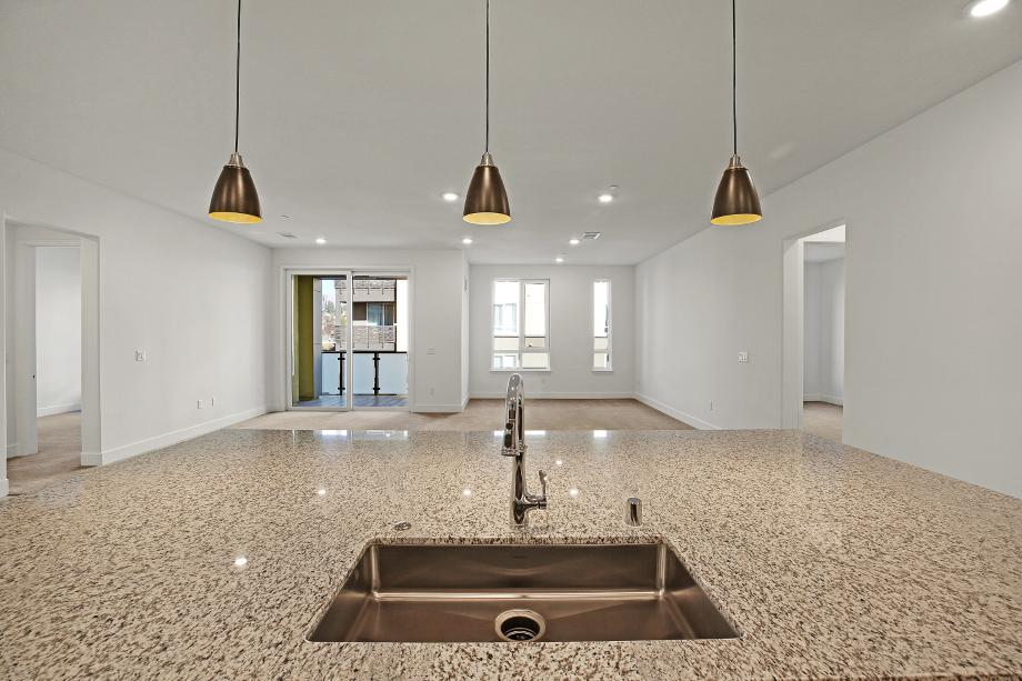 Toll Brothers Chancery Lane at Metro Crossing Residence 53 Kitchen Island