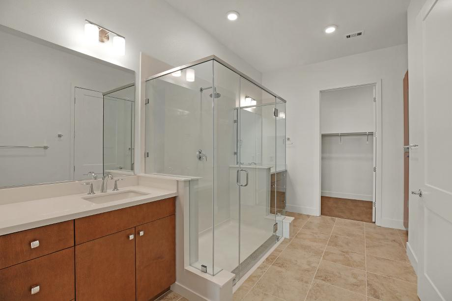 Toll Brothers Chancery Lane at Metro Crossing Residence 53 Primary Suite Bathroom