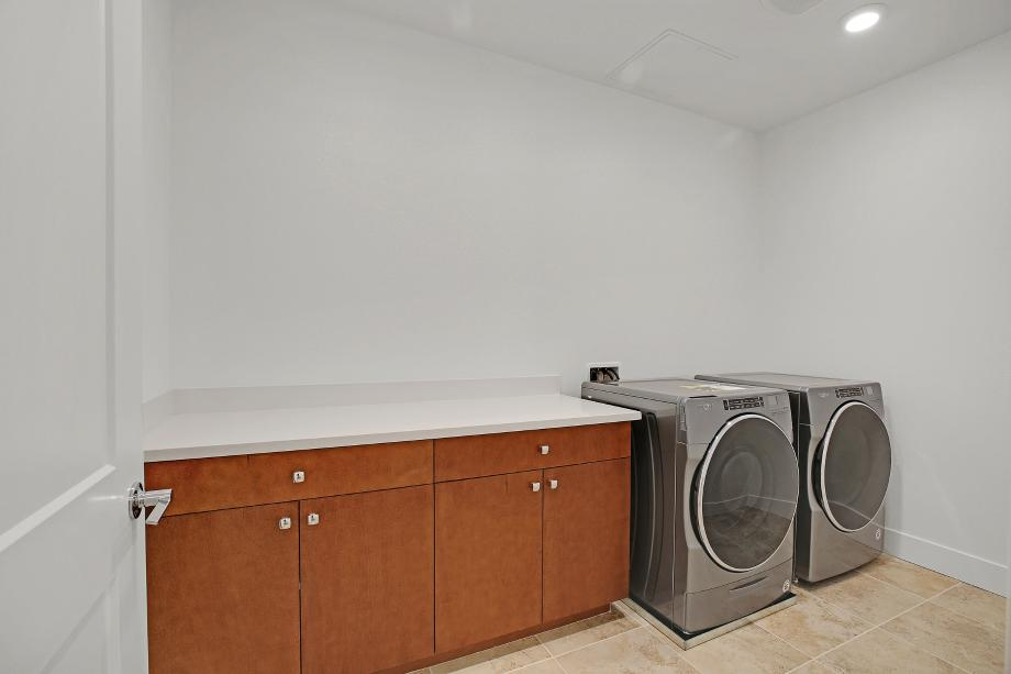 Toll Brothers Chancery Lane at Metro Crossing Residence 53 Laundry Room