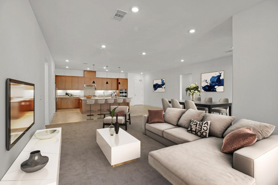 Toll Brothers Chancery Lane at Metro Crossing Open Floor Plan