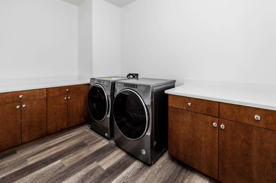 Toll Brothers Chancery Lane Penthouse Laundry Room - Washer/Dryer Included