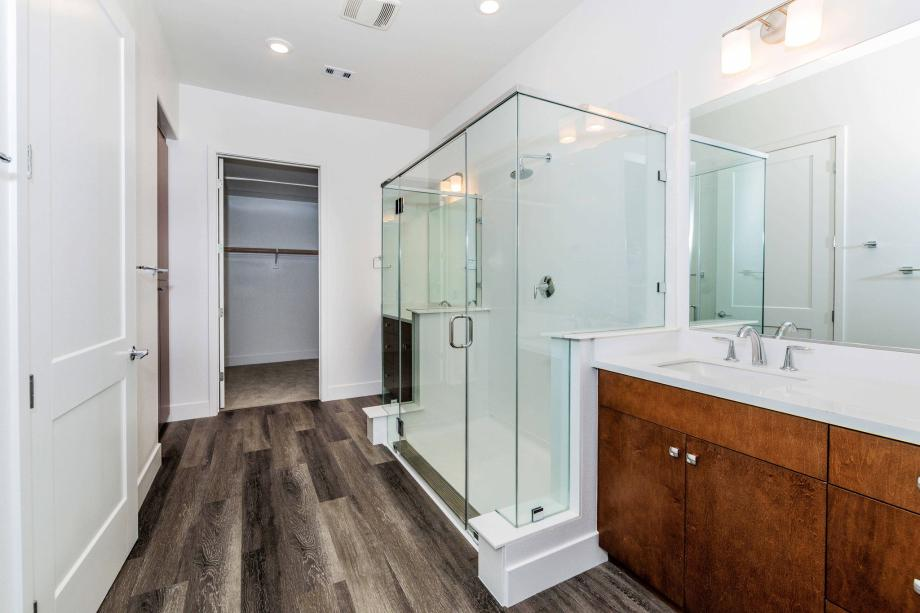 Toll Brothers Chancery Lane Penthouse Luxurious Primary Suite Bathroom