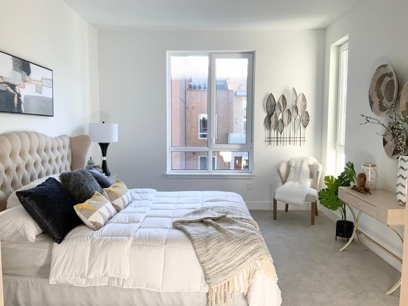Luxury Primary BedroomToll Brothers Chancery Lane at Metro Crossing
