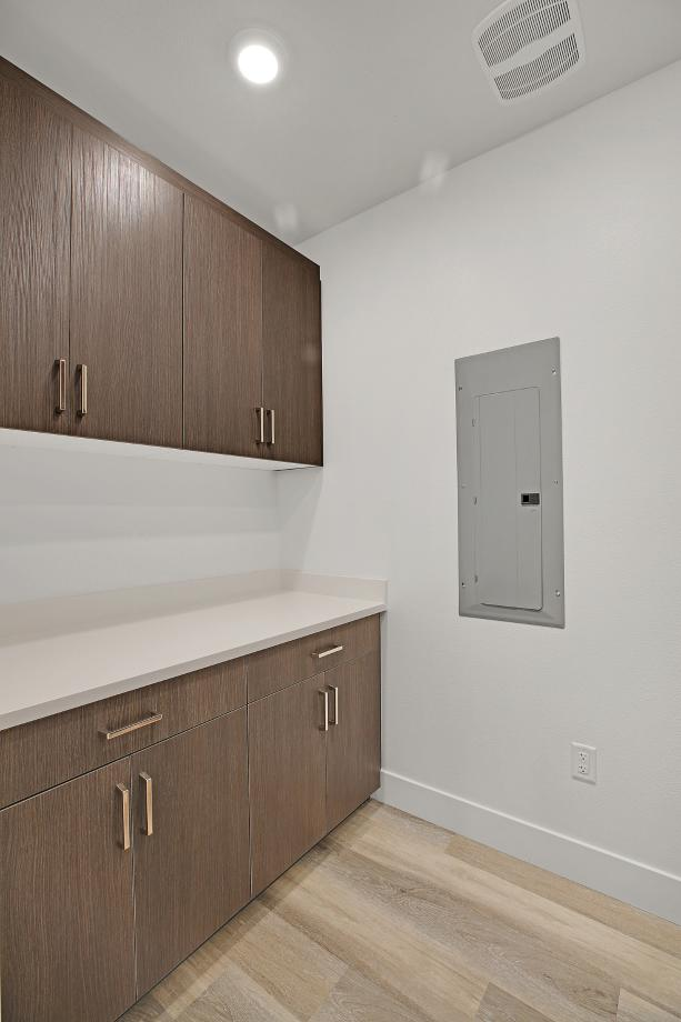 Toll Brothers Chancery Lane at Metro Crossing Residence 57 Laundry Room Linen Area