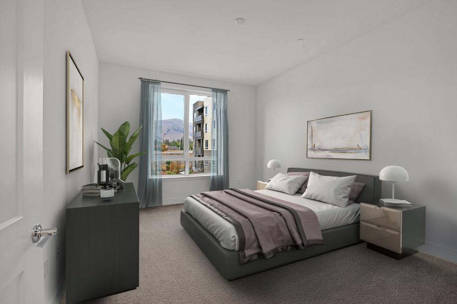 Toll Brothers Chancery Lane at Metro Crossing luxurious primary bedroom