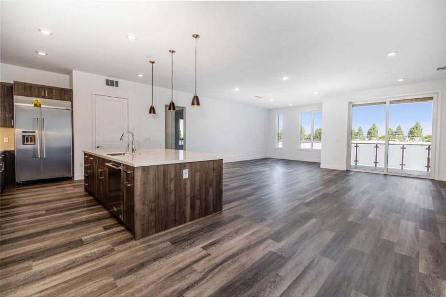 Toll Brothers Chancery Lane at Metro Crossing open concept floor plan