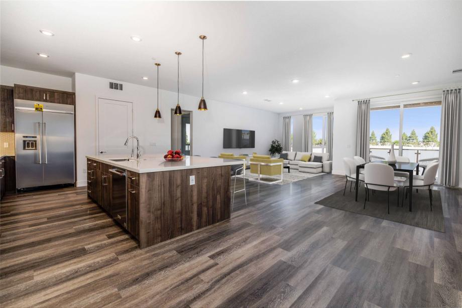 Toll Brothers Chancery Lane at Metro Crossing Open-Concept Floor Plan