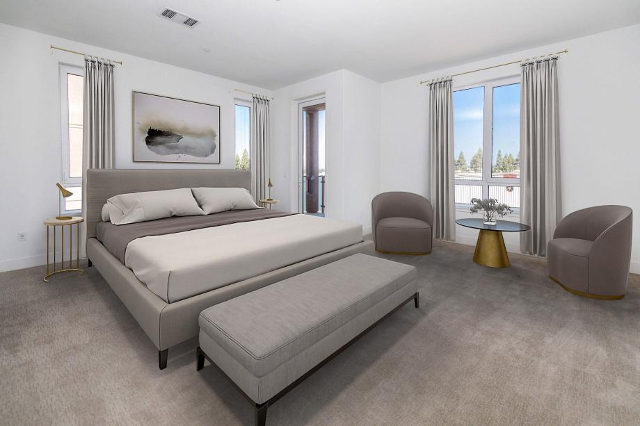 Toll Brothers Chancery Lane at Metro Crossing Elegant Primary Bedroom