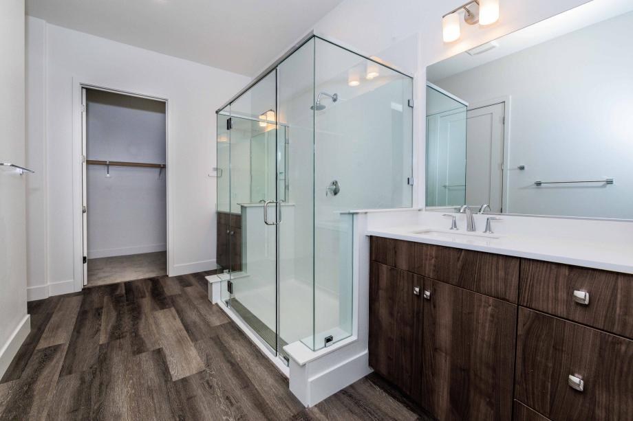 Toll Brothers Chancery Lane at Metro Crossing sumptuous primary bathroom