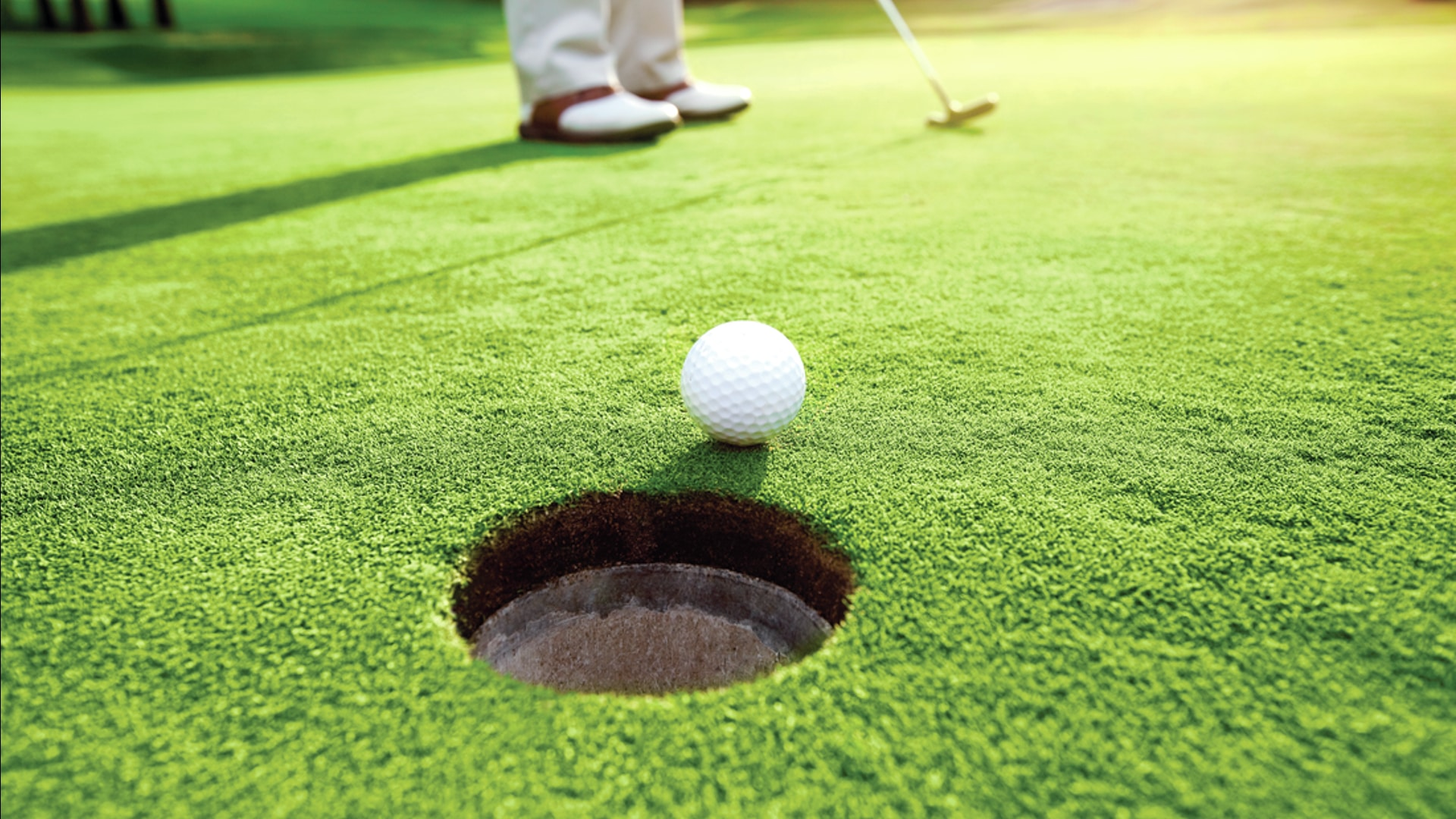 Private and public golf courses near by