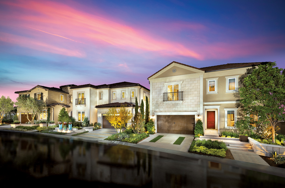 Toll Brothers - Hillcrest at Porter Ranch - Beacon Collection Photo