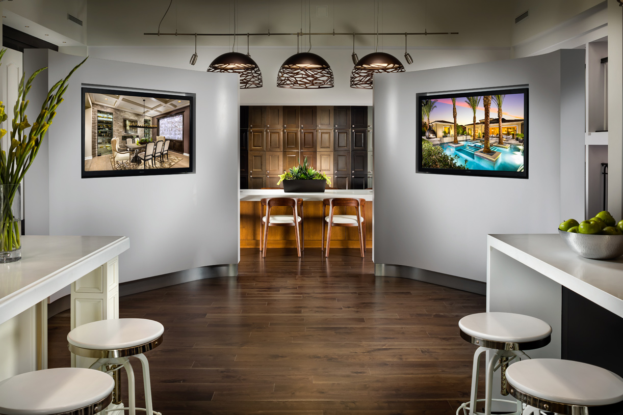 The state-of-the-art Los Angeles Design Studio offers Toll Brothers buyers exclusive access to personalization options to create the home of your dreams