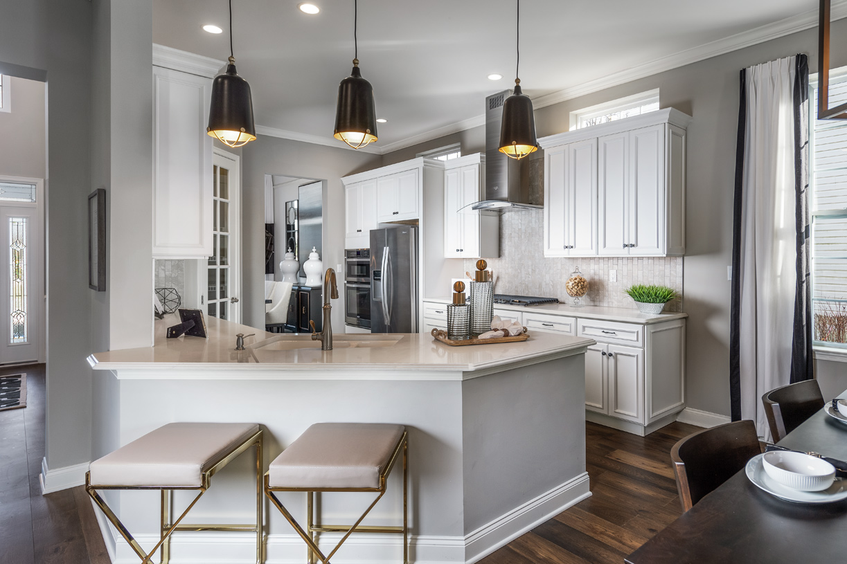 Kitchen with state-of-the-art appliances