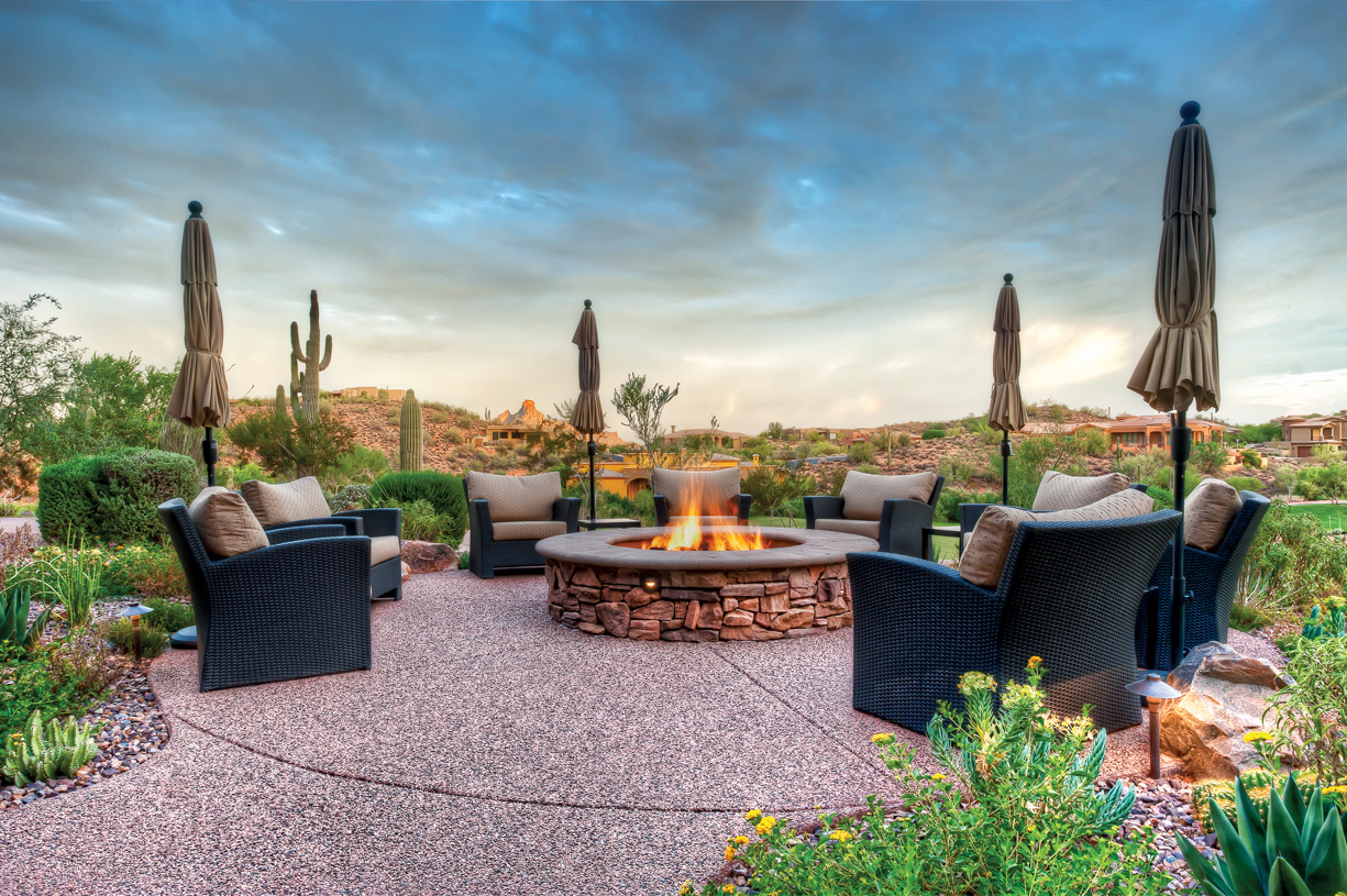 Enjoy outstanding amenities, including a community pool, bocce ball court, and barbecue area  with scenic views