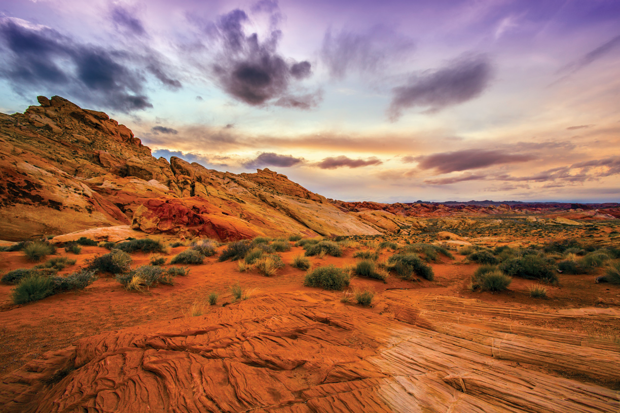 Live in the shadows of Red Rock Canyon