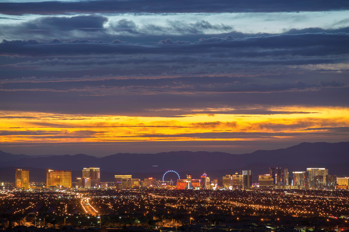 Take in exceptional views of the Las Vegas Strip
