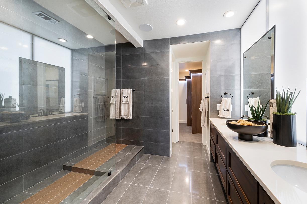 Brighton luxury primary bathroom