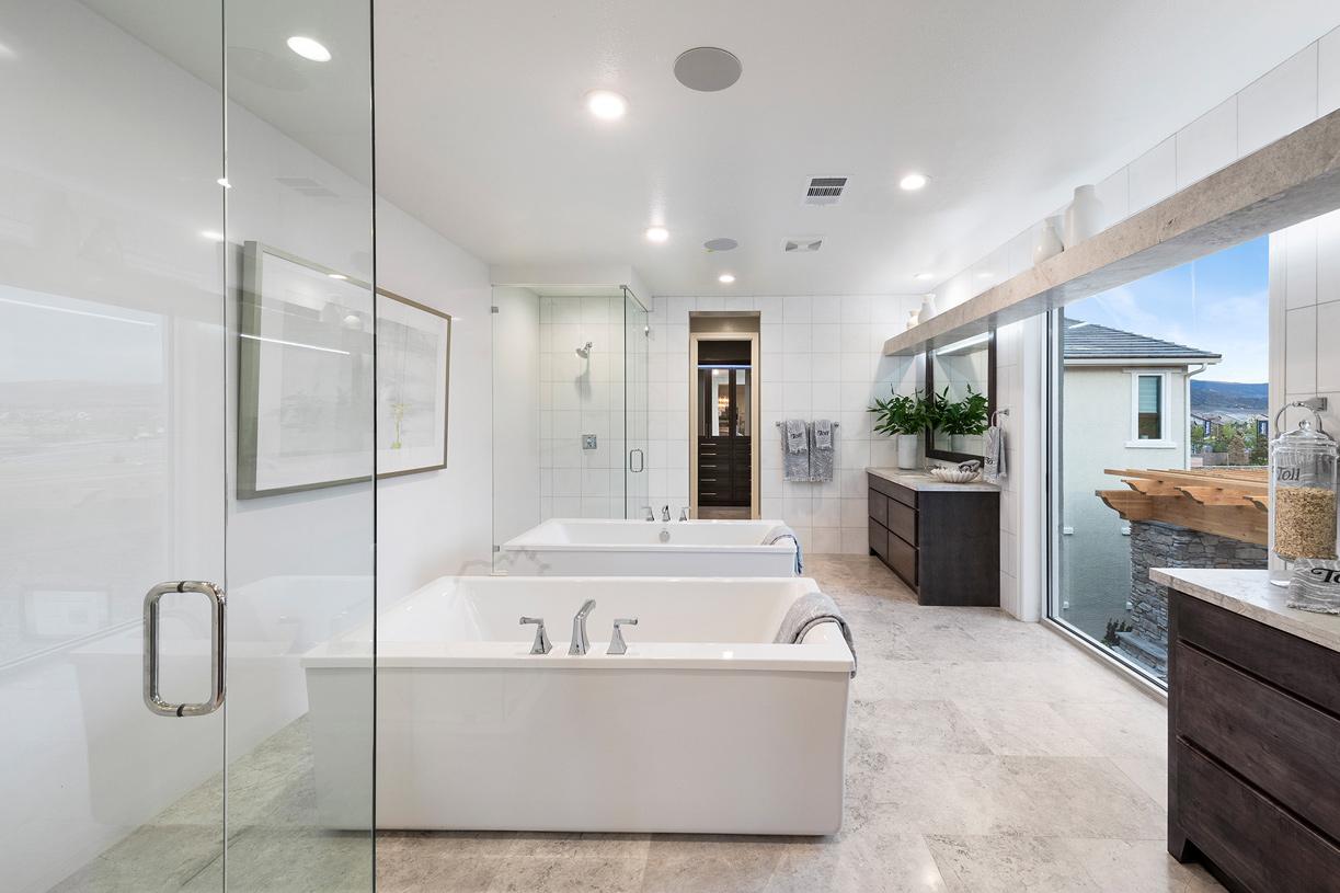 Portillo luxury primary bathroom