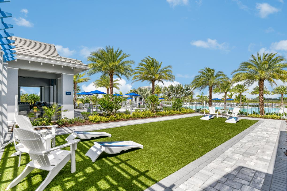 The Green at The Pier House, the community amenity center