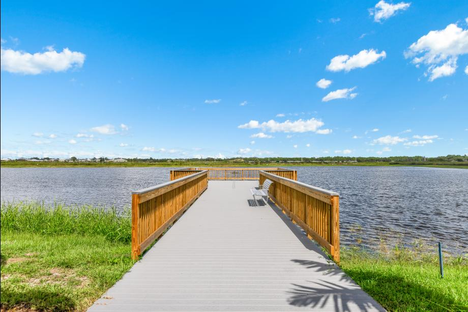 The Dock at The Pier House, the community amenity center