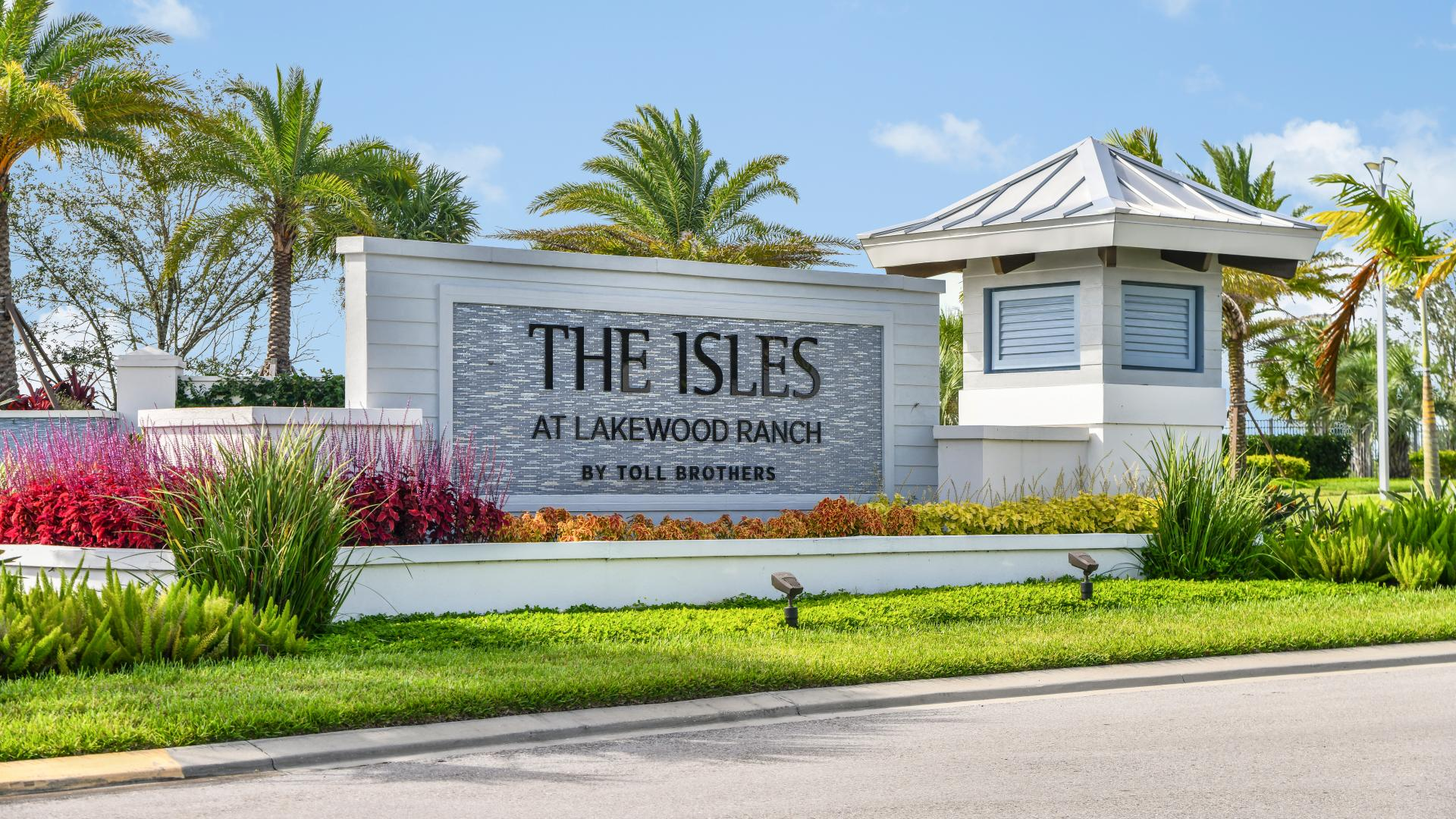 Welcome home to The Isles at Lakewood Ranch by Toll Brothers