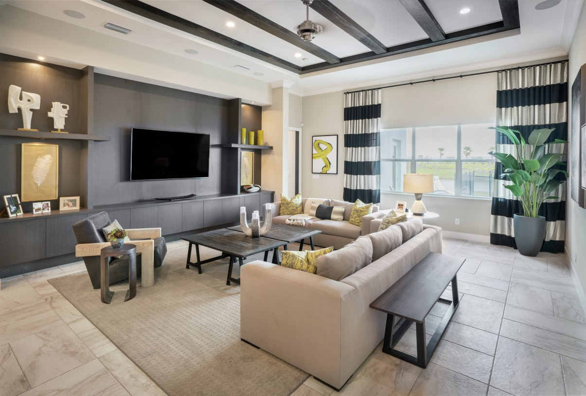Bright and spacious great rooms