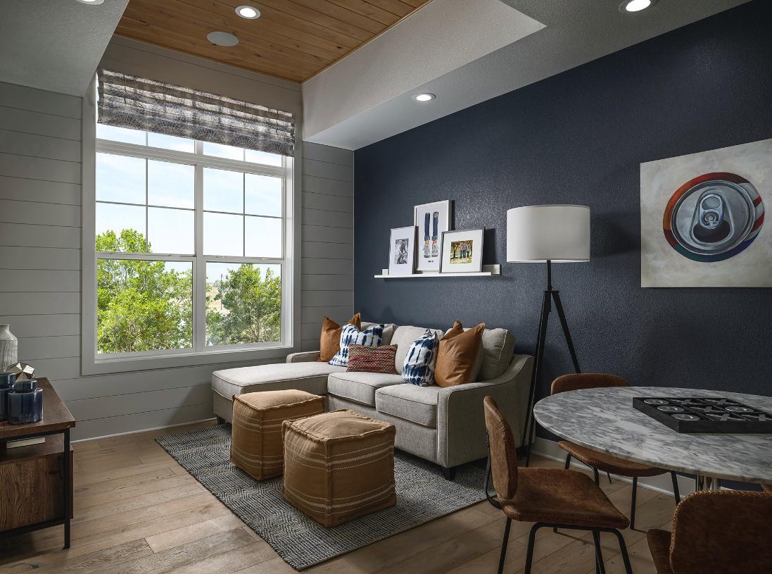 Crawford loft or optional secondary bedroom