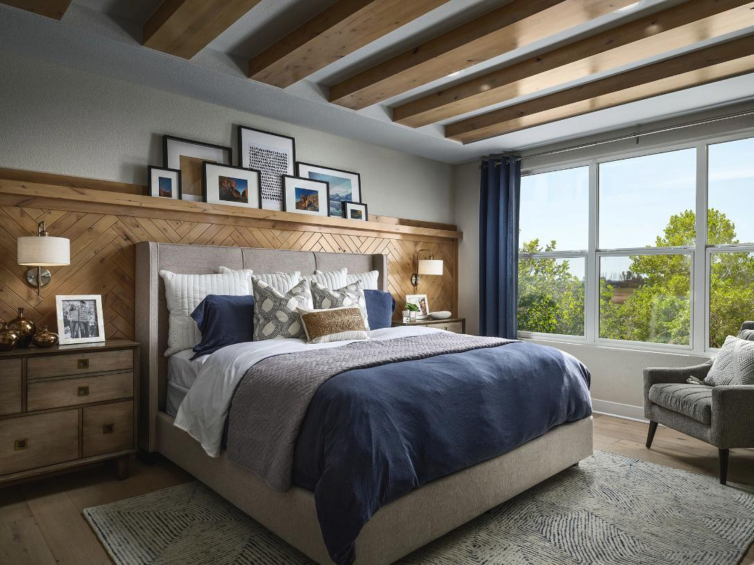 Crawford luxurious primary bedroom