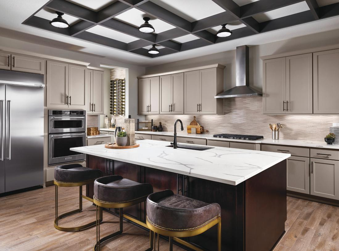 Dillon kitchen with center island