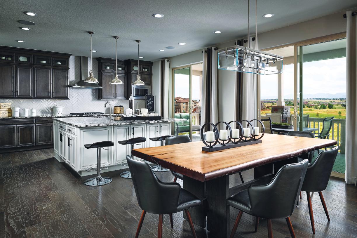 Hayden kitchen and breakfast nook